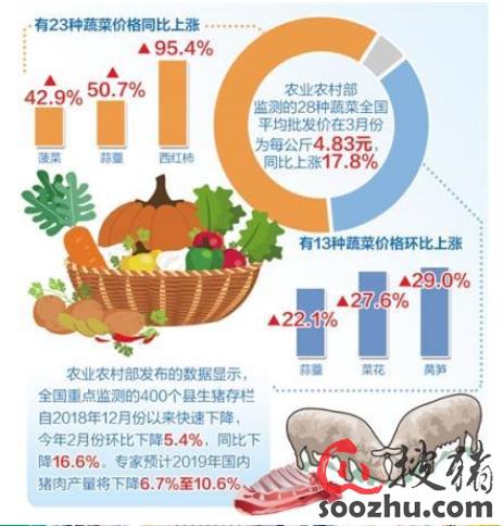 猪价菜价走势会出现哪些变化? 对CPI影响几何